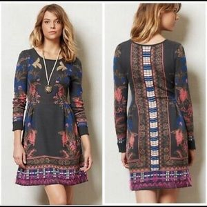 Anthropologie sweater dress size L.